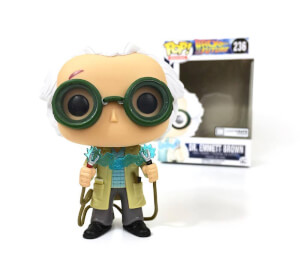 Back To The Future Limited Edition Doc Brown Pop! Vinyl Figure