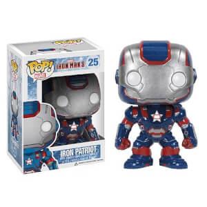 Iron Man 3 Iron Patriot Pop! Vinyl Figure