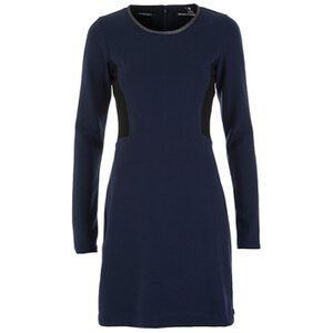 Maison Scotch Women's Tailored Fitted Mini Dress - Night Melange