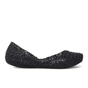 Melissa Women's Campana Papel 14 Ballet Flats - Black Glitter