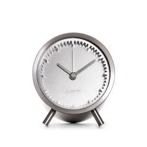 LEFF Amsterdam Piet Hein Eek Tube Clock - Steel