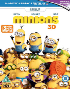 Los Minions - 2D + 3D (incluye copia UV)