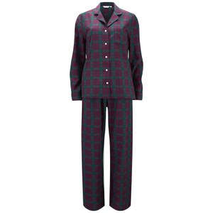 Derek Rose Women's Amelia 12 Pyjama Set - Red