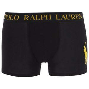 Polo Ralph Lauren Men's Classic Trunk Boxers - Black/Gold