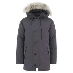 Canada Goose Men's Chateau Down Filled Parka Jacket - Graphite