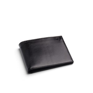 Aspinal of London Billfold Wallet - Black
