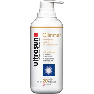 Ultrasun LSF 20 Glimmer (400ml)