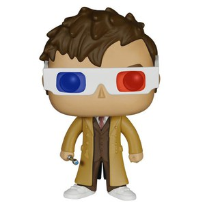 Doctor Who 10th Doctor 3D Specs Limited Edition Funko Pop! Vinyl