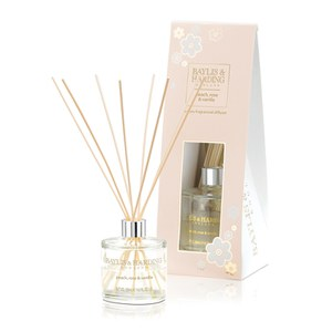 Baylis & Harding Mosaic Peach, Rose and Vanilla Diffuser Set