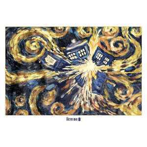 Doctor Who Exploding Tardis - 40 x 55 Inches Giant Poster