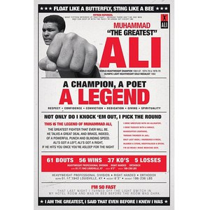 Muhammad Ali Vintage - 24 x 36 Inches Maxi Poster