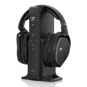 Sennheiser RS 175 Surround Sound Wireless Headphones with Multi-Purpose Transmitter