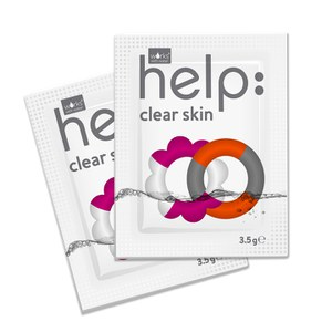 Works with Water Women's Help: Clear Skin Soluble Supplement (28 x 3.5g): Image 3