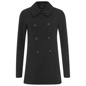 ONLY Womens Emmelie Wool Coat - Black