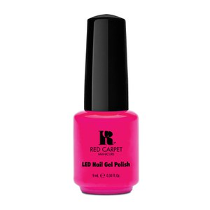 Esmalte My Main Beach en tono Bright Pink Cream (9ml) de Red Carpet Manicure