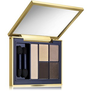 Palette 5 couleurs Fards à paupières sculptants Pure Color Envy d'Estée Lauder 7g Ivoire intense
