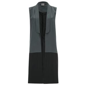 Vero Moda Women's Sia Sleeveless Blazer - Asphalt
