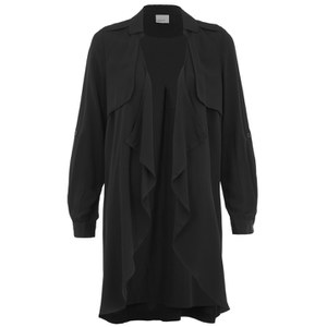 Vero Moda Women's Wonderland 3/4 Length Blazer - Black