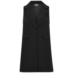 Vero Moda Women's Hong Sleeveless Waistcoat - Black