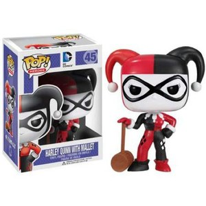 DC Comics Batman Harley Quinn With Mallet Funko Pop! Figuur