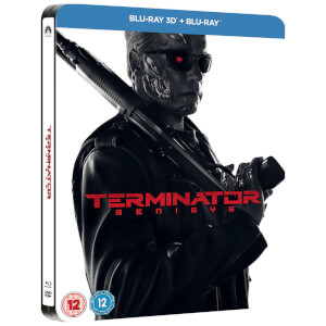 Terminator Genisys 3D (Includes 2D Version) - Zavvi Exclusive Limited Edition Steelbook