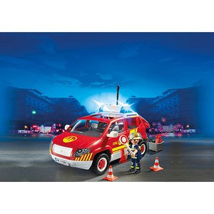 Playmobil Fire Chief's Car with Lights and Sound (5364)