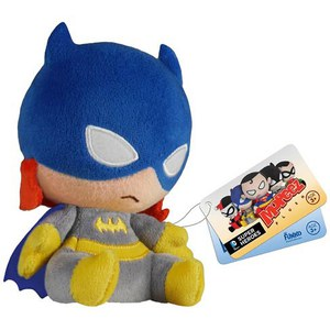 Mopeez DC Comics Batman Batgirl Plush Figure