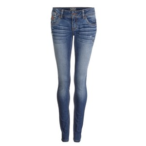 Superdry Women's Cara Skinny Jeans - Extreme Blue Vintage