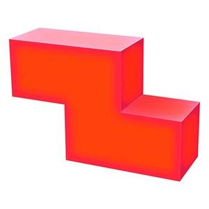 Tetris Z Tetrimino Light Sculpture