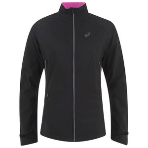 Asics Women's Windstopper Running Jacket - Performance Black