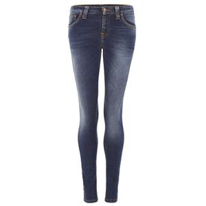 Nudie Jeans Women's Skinny Lin Denim Jeans - Compact Cloud