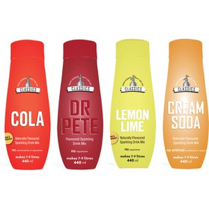 SodaStream Caps Classic Flavour Pack