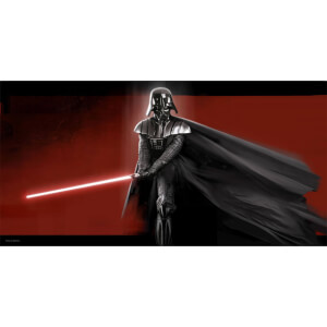 Star Wars Glass Poster - Darth Vader (50 x 25cm)