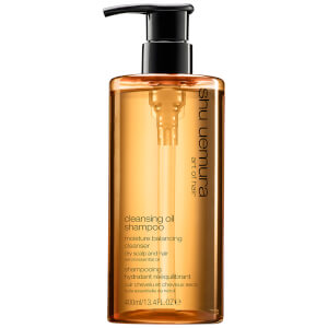 Shampoo Cleansing Oil da Shu Uemura Art of Hair para couro cabeludo seco (400 ml)