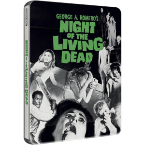 Night Of The Living Dead - Zavvi Exclusive Limited Steelbook