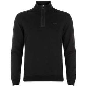 BOSS Green Men's Sweatshirt 1 Nylon Combi Hoody - Black