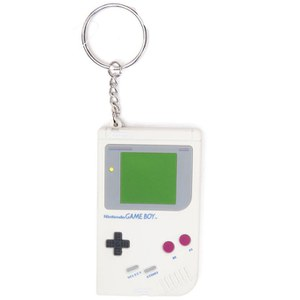Nintendo Original Rubber Gameboy Key Chain