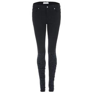 Ash Women's Press Skinny Jeans - Black