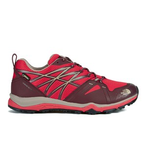 The North Face Women's Hedgehog Fastpack Lite GTX Hike Trainers - Melon Red