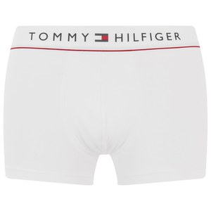 Tommy Hillfiger Men's New Basic Cotton Trunk Boxers - White