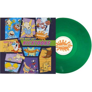 Bande Originale The Best of Nicktoons -(1LP) édition limitée exclusive à Zavvi : Vinyle vert