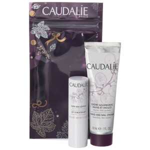 Caudalie Lip Conditioner and Hand Cream Duo 30ml