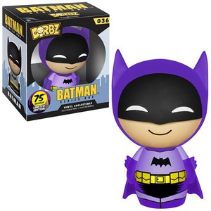 DC Comics Batman 75th Anniversary Purple Rainbow Batman Dorbz Action Figure