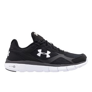 Under Armour Men's Micro G Velocity RN Running Shoes - Black