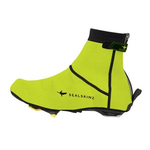 SealSkinz High Vis Open Sole Neoprene Overshoes - Yellow/Black