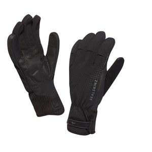 SealSkinz Brecon XP Cycle Gloves - Black/Black