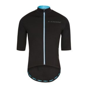 Look [LM]MENT Short Sleeve Jersey - Black/Blue/Team