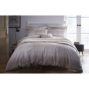 Bianca Check Oxford Pillowcase - Natural