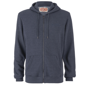 Salvage Men's Zip Through Hoody - Nightshade Navy Marl