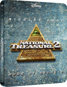National Treasure 2. Book of Secrets - Zavvi exklusives (UK Edition) Limited Edition Steelbook
